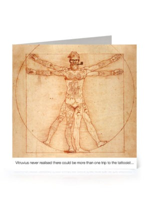 Vitruvian Hipster
